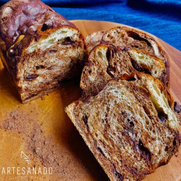 Pan Brioche Tres Chocolates _4