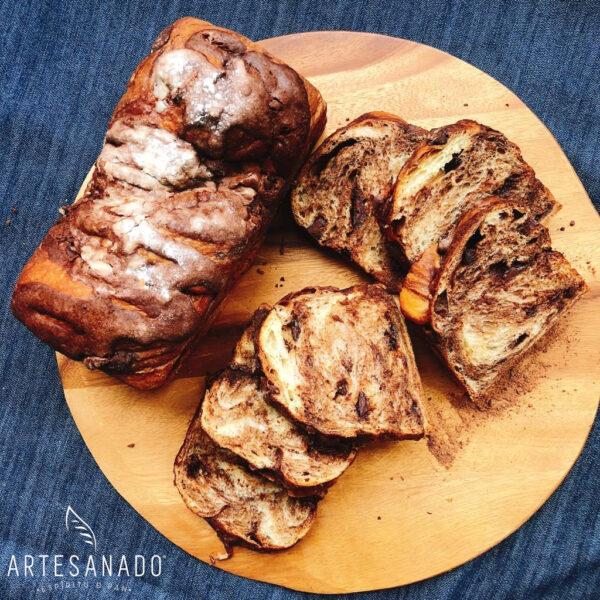 Pan Brioche Tres Chocolates _3